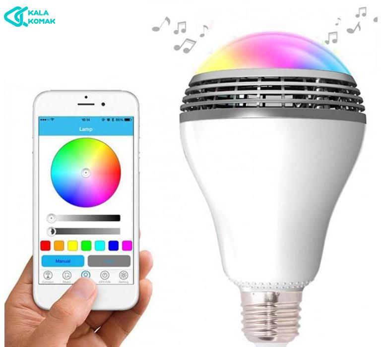 لامپ-هوشمند-اسپیکر-رنگی