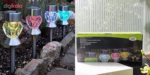 لامپ خورشیدی باغچه